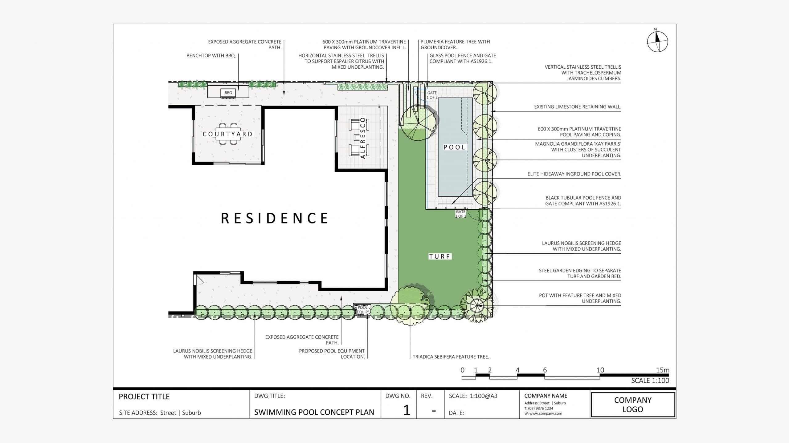 2D  Concept Plans